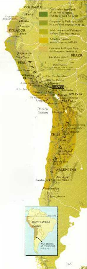 inca map for kids - photo #23